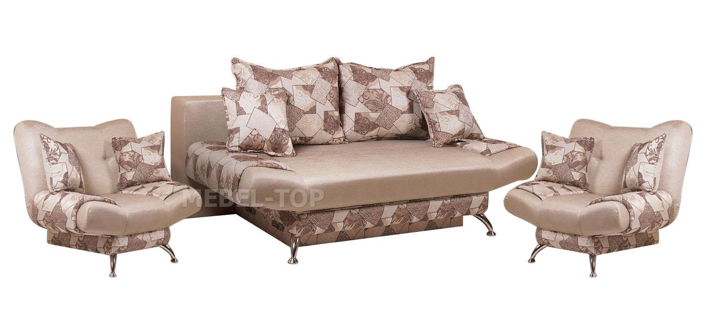 Комплект мягкой мебели Кармен-евро