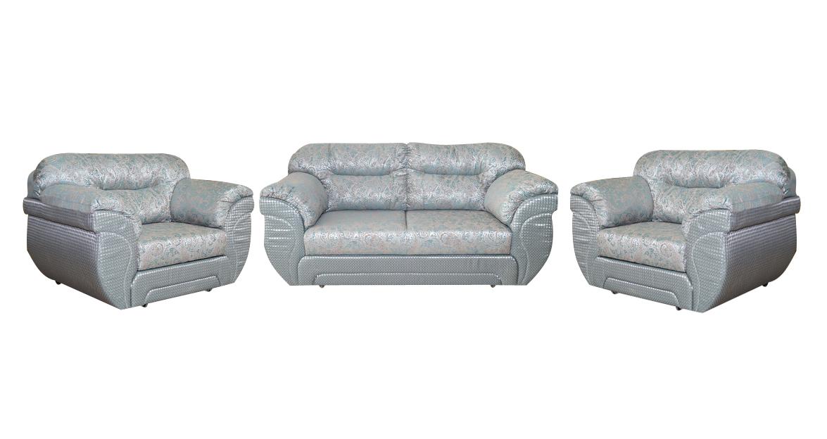 Комплект мягкой мебели Плаза-Грос