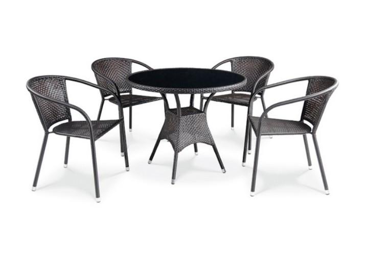Комплект садовой мебели 4+1 T197A Y-137C Афина Мебель
