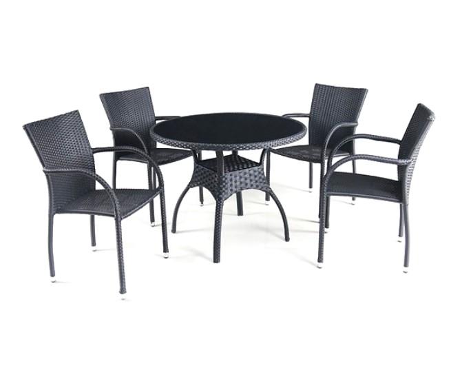 Комплект садовой мебели 4+1 T247A-1 Y-282A