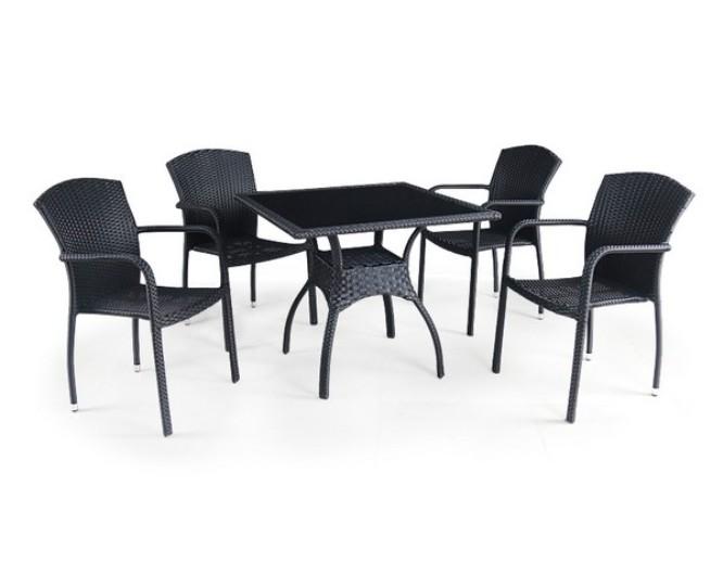 Комплект садовой мебели 4+1 T247A-2 Y-95D