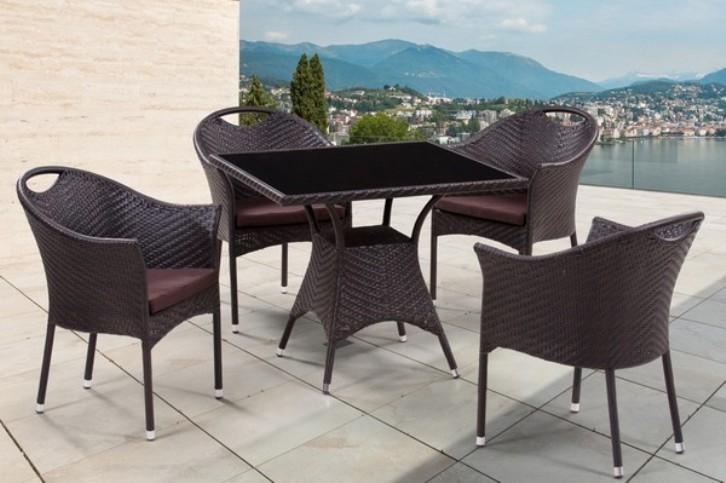 Комплект садовой мебели 4+1 T190B-2 Y-197B
