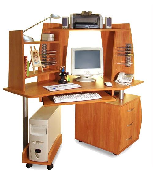 Компьютерный стол с надставками ПС 04.21.E