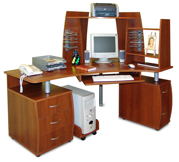 Компьютерный стол с надставками ПС 04.61.H