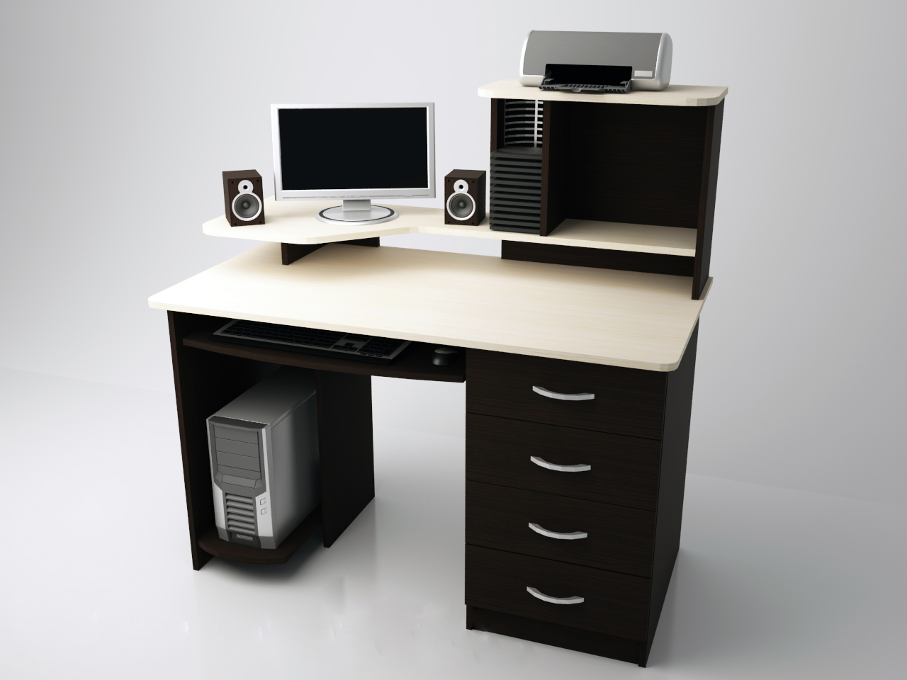 КС4 Стол компьютерный (Н4)