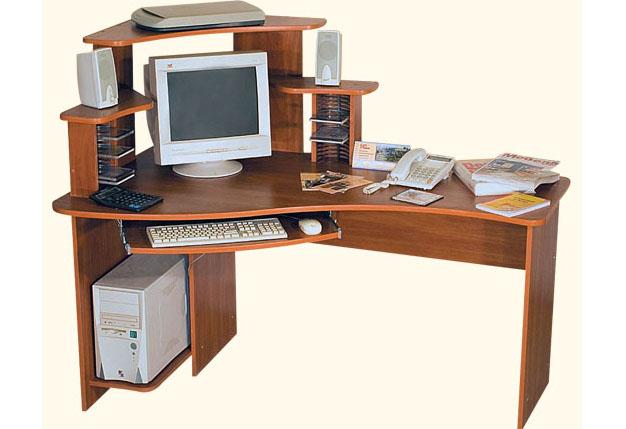Компьютерный стол КС-16-2+КН-3 компьютерный стол кс 20 16м3