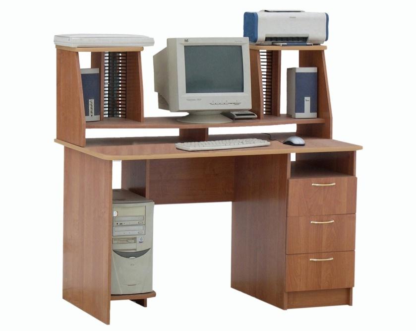 Компьютерный стол ПСК 3Компьютерные столы<br>Размер: 1200х680 В800/1230<br><br>Материалы: ЛДСП, кромка ПВХ<br>Полный размер (ДхГхВ): 1200х680х800/1230<br>Примечание: Доставляется в разобранном виде<br>Изготовление и доставка: 6-10 дней, дни доставок среда и суббота<br>Условия доставки: Бесплатная по Москве до подъезда<br>Условие оплаты: Оплата наличными при получении товара<br>Доставка по МО (за пределами МКАД): 30 руб./км<br>Доставка в пределах ТТК: Доставка в центр Москвы осуществляется ночью, с 22.00 до 6.00 утра<br>Подъем на лифте: 300 руб.<br>Подъем без лифта: 150 руб./этаж<br>Сборка: 10% от стоимости изделия, но не менее 1,000 руб.<br>Гарантия: 12 месяцев<br>Производство: Россия<br>Производитель: ГРОС