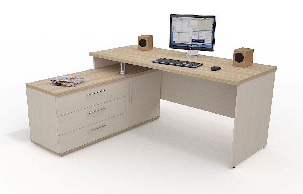 Стол для компьютера Grey 15677761 от mebel-top.ru
