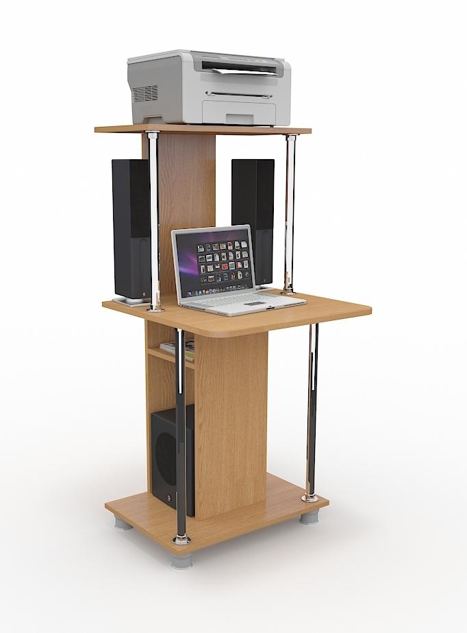 Компьютерный стол СК-207Компьютерные столы<br>Размер: 600х1260х600<br><br>Материалы: ЛДСП Kronospan - 16 мм., кромка ПВХ - 0,4 мм.<br>Полный размер (ДхВхГ): 600х1260х600<br>Примечание: Доставляется в разобранном виде<br>Изготовление и доставка: 10-14 дней<br>Условия доставки: Бесплатная по Москве до подъезда<br>Условие оплаты: Оплата наличными при получении товара<br>Доставка по МО (за пределами МКАД): 30 руб./км<br>Доставка в пределах ТТК: Доставка в центр Москвы осуществляется ночью, с 22.00 до 6.00 утра<br>Подъем на лифте: 300 руб.<br>Подъем без лифта: 150 руб./этаж<br>Сборка: 800 руб.<br>Гарантия: 12 месяцев<br>Производство: Россия<br>Производитель: Grey