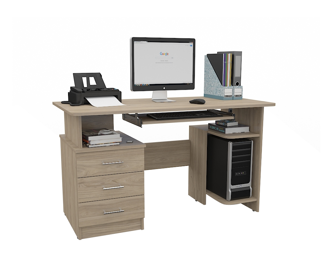 Стол для компьютера Grey 15689152 от mebel-top.ru