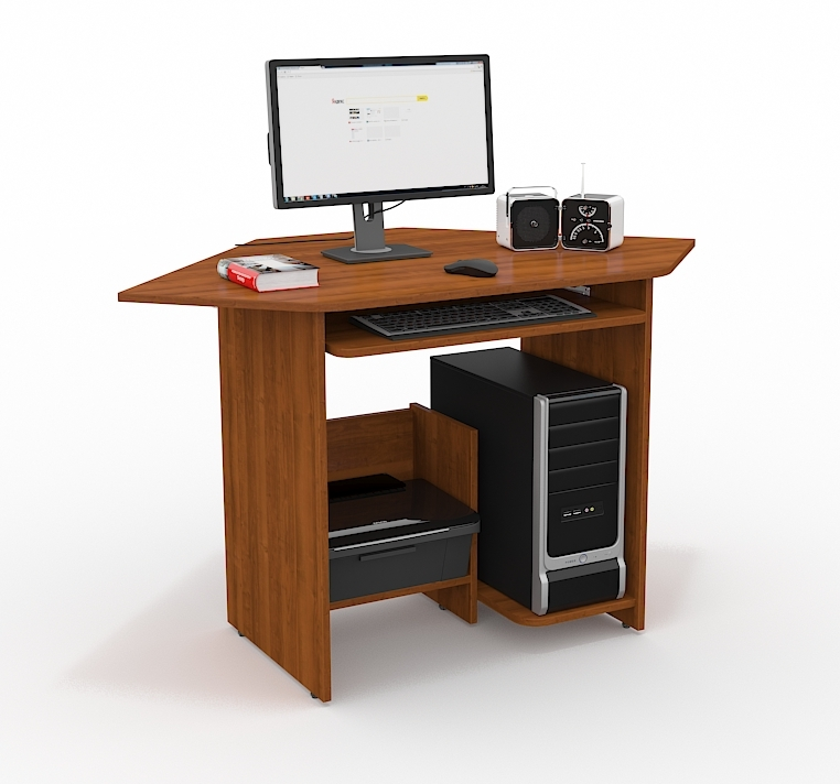 Компьютерный стол СК-212Компьютерные столы<br>Размер: 900x750x900<br><br>Материалы: ЛДСП Kronospan - 16 мм., кромка ПВХ - 0,4 мм.<br>Полный размер (ДхВхГ): 900x750x900<br>Примечание: Доставляется в разобранном виде<br>Изготовление и доставка: 10-14 дней<br>Условия доставки: Бесплатная по Москве до подъезда<br>Условие оплаты: Оплата наличными при получении товара<br>Доставка по МО (за пределами МКАД): 30 руб./км<br>Доставка в пределах ТТК: Доставка в центр Москвы осуществляется ночью, с 22.00 до 6.00 утра<br>Подъем на лифте: 300 руб.<br>Подъем без лифта: 150 руб./этаж, включая первый<br>Сборка: 800 руб.<br>Гарантия: 12 месяцев<br>Производство: Россия<br>Производитель: Grey