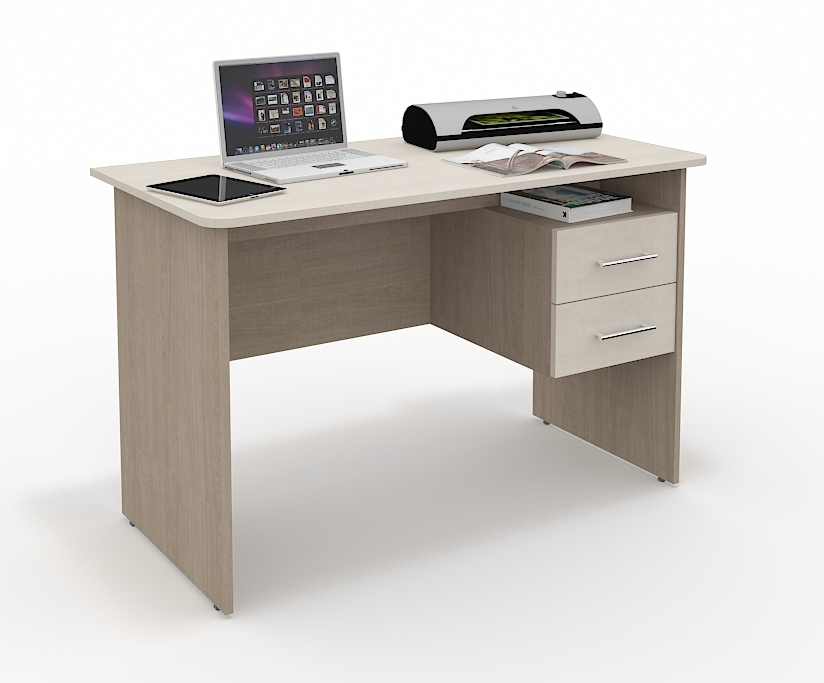Компьютерный стол СК-213Компьютерные столы<br>Размер: 1200х760х600<br><br>Материалы: ЛДСП Kronospan - 16 мм., кромка ПВХ - 0,4 мм.<br>Полный размер (ДхВхГ): 1200х760х600<br>Примечание: Доставляется в разобранном виде<br>Важно: 10-14 дней<br>Условия доставки: Бесплатная по Москве до подъезда<br>Условие оплаты: Оплата наличными при получении товара<br>Доставка по МО (за пределами МКАД): 30 руб./км<br>Доставка в пределах ТТК: Доставка в центр Москвы осуществляется ночью, с 22.00 до 6.00 утра<br>Подъем на лифте: 300 руб.<br>Подъем без лифта: 150 руб./этаж<br>Сборка: 800 руб.<br>Гарантия: 12 месяцев<br>Производство: Россия<br>Производитель: Grey