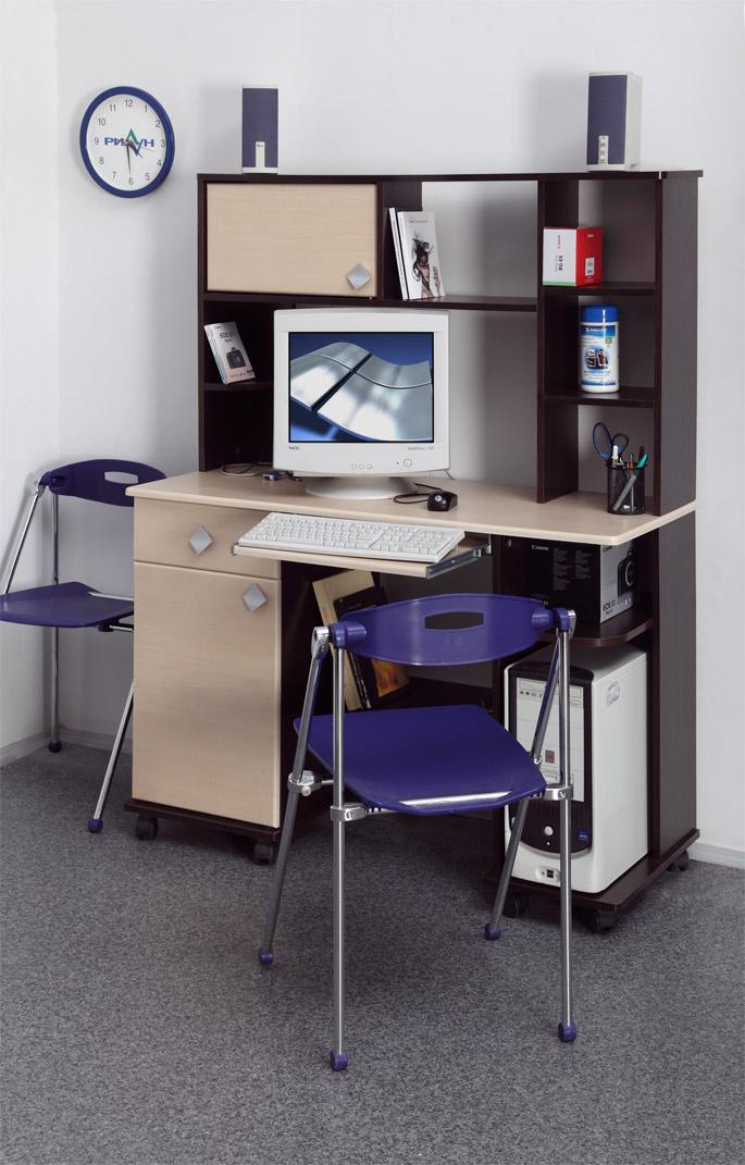 Компьютерный стол Костер 6Компьютерные столы<br>Размер: 1216х1463х450<br><br>Материалы: ЛДСП, кромка ПВХ<br>Полный размер: 1216х1463х450<br>Вес товара (кг): 42<br>Примечание: Доставляется в разобранном виде<br>Изготовление и доставка: 7-14 дней<br>Условия доставки: Бесплатная по Москве до подъезда<br>Условие оплаты: Оплата наличными при получении товара<br>Доставка по МО (за пределами МКАД): 30 руб./км<br>Доставка в пределах ТТК: Доставка в центр Москвы осуществляется ночью, с 22.00 до 6.00 утра<br>Подъем на грузовом лифте: 300 руб.<br>Подъем без лифта: 150 руб./этаж<br>Сборка: 10% от стоимости изделия, но не менее 1,000 руб.<br>Гарантия: 12 месяцев<br>Производство: Россия, г. Нижний Новгород<br>Производитель: Олмеко