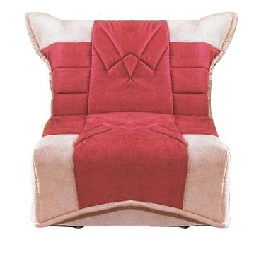 Кресло-кровать АвгустКресло-кровати<br>Размер: 75х115 В95 (сп. м. 70х200)<br><br>Механизм: Аккордеон<br>Каркас: Металлический<br>Полный размер (ДхГхВ): 75х115х95<br>Спальное место: 70х200<br>Наполнитель: ППУ высокой плотности, Ортопедическое основание<br>Комплектация: Ящик для белья комплектуется в кресла со спальным местом шириной 80 и 90 см.<br>Примечание: Стоимость указана по минимальной категории ткани. Мебель может быть изготовлена в двух исполнениях: СТАНДАТ и ЛЮКС<br>Изготовление и доставка: 5-14 рабочих дней, в зависимости от обивки<br>Условия доставки: Бесплатная по Москве до подъезда<br>Условие оплаты: Оплата наличными при получении товара<br>Доставка по МО (за пределами МКАД): 40 руб./км<br>Доставка в пределах ТТК: Доставка в центр Москвы осуществляется ночью, с 22.00 до 6.00 утра<br>Подъем на грузовом лифте: 350 руб.<br>Подъем без лифта: На первый этаж 250 руб., выше 200 руб./этаж<br>Сборка: 200 руб. в день доставки, заказать сборку Вы можете, если у Вас оформлена услуга подъем/занос изделия в помещение<br>Гарантия: 12 месяцев<br>Производство: Россия<br>Производитель: Фиеста