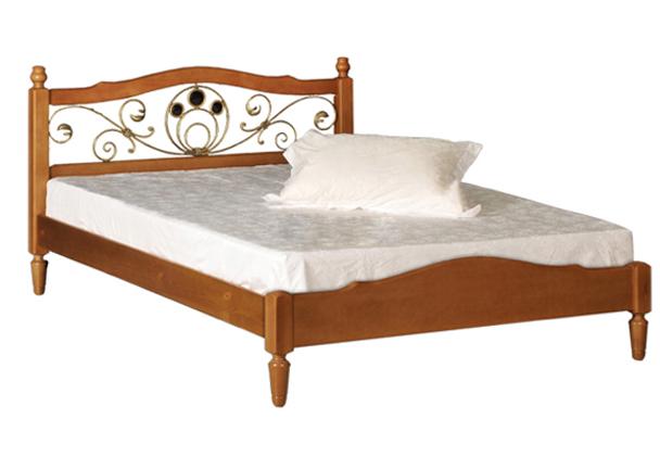 Деревянная кровать Феникс-1
