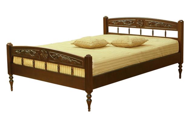 Деревянная кровать Жасмин-2