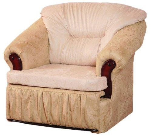 Кресло-кровать МартаКресло-кровати<br>Размер: 100х90 В95 (сп. м. 190х56)<br><br>Механизм: Выкатной<br>Материалы: Массив сосны, фанера<br>Каркас: Деревянный<br>Полный размер (ШхДхВ): 100х90х95<br>Спальное место: 190х56<br>Высота сиденья (см): 47<br>Наполнитель: ППУ высокой плотности, холлофайбер<br>Примечание: Стоимость указана по минимальной категории ткани<br>Важно: В иск. коже не изготавливается!<br>Изготовление и доставка: 10-17 дней<br>Условия доставки: Бесплатная по Москве до подъезда<br>Условие оплаты: Оплата наличными при получении товара<br>Доставка по МО (за пределами МКАД): 30 руб./км<br>Доставка в пределах ТТК: Доставка в центр Москвы осуществляется ночью, с 22.00 до 6.00 утра<br>Подъем на грузовом лифте: 300 руб.<br>Подъем без лифта: 150 руб./этаж<br>Сборка: Доставляется в собранном виде, в связи с этим, световой проем двери должен быть не менее 78-80 см., также коридор, простенки и все узкое пространство для заноса мебели должны иметь ширину не менее 1-го метра<br>Гарантия: 12 месяцев<br>Производство: Россия<br>Производитель: Фокстрот