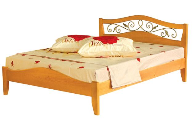 Деревянная кровать Талисман-1