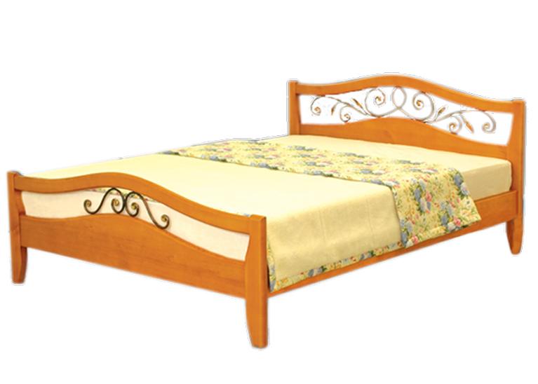 Деревянная кровать Талисман-2
