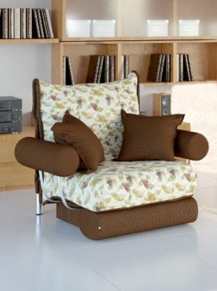 Кресло-кровать ДуэтКресло-кровати<br>Размер: 110х115 В95 (сп. м. 70х200)<br><br>Механизм: Аккордеон<br>Каркас: Металлический<br>Полный размер (ДхГхВ): 110х115х95<br>Спальное место: 70х200<br>Наполнитель: ППУ высокой плотности, Ортопедическое основание<br>Комплектация: Ящик для белья комплектуется в кресла со спальным местом шириной 80 и 90 см. Подушки в стоимость не входят!<br>Примечание: Стоимость указана по минимальной категории ткани. Мебель может быть изготовлена в двух исполнениях: СТАНДАТ и ЛЮКС<br>Изготовление и доставка: 5-14 рабочих дней, в зависимости от обивки<br>Условия доставки: Бесплатная по Москве до подъезда<br>Условие оплаты: Оплата наличными при получении товара<br>Доставка по МО (за пределами МКАД): 40 руб./км<br>Доставка в пределах ТТК: Доставка в центр Москвы осуществляется ночью, с 22.00 до 6.00 утра<br>Подъем на грузовом лифте: 350 руб.<br>Подъем без лифта: На первый этаж 250 руб., выше 200 руб./этаж<br>Сборка: 200 руб. в день доставки, заказать сборку Вы можете, если у Вас оформлена услуга подъем/занос изделия в помещение<br>Гарантия: 12 месяцев<br>Производство: Россия<br>Производитель: Фиеста