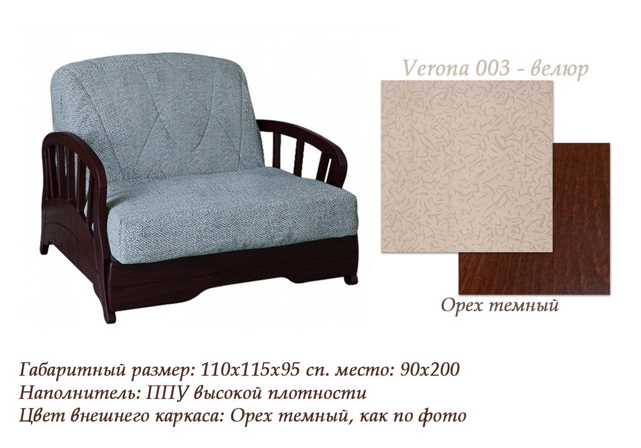 Кресло-кровать Канопус МДФ-м85