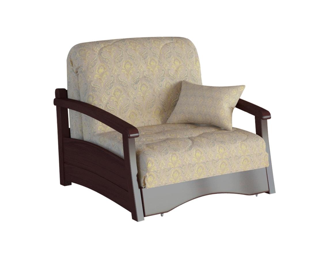 Кресло-кровать Профит с деревянными подлокотниками
