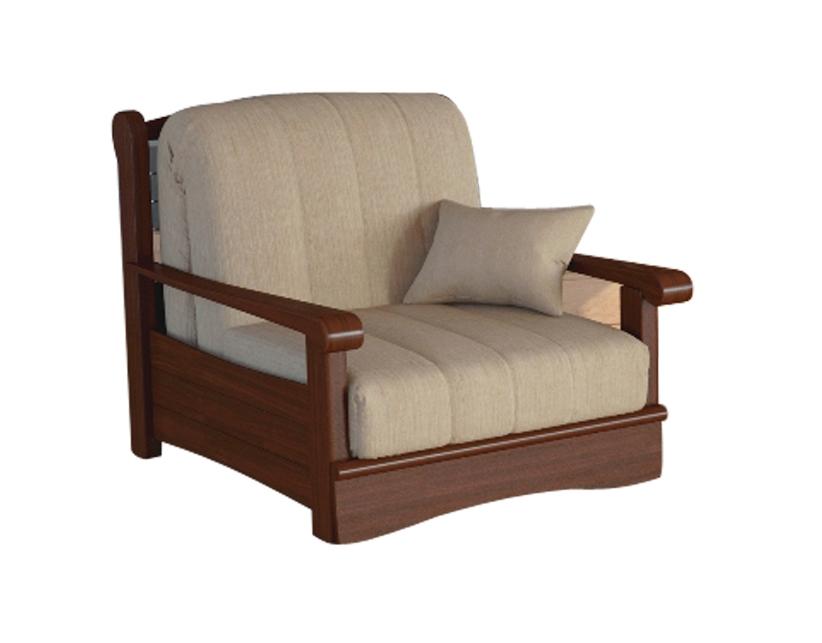Кресло-кровать Рея с деревянными подлокотниками