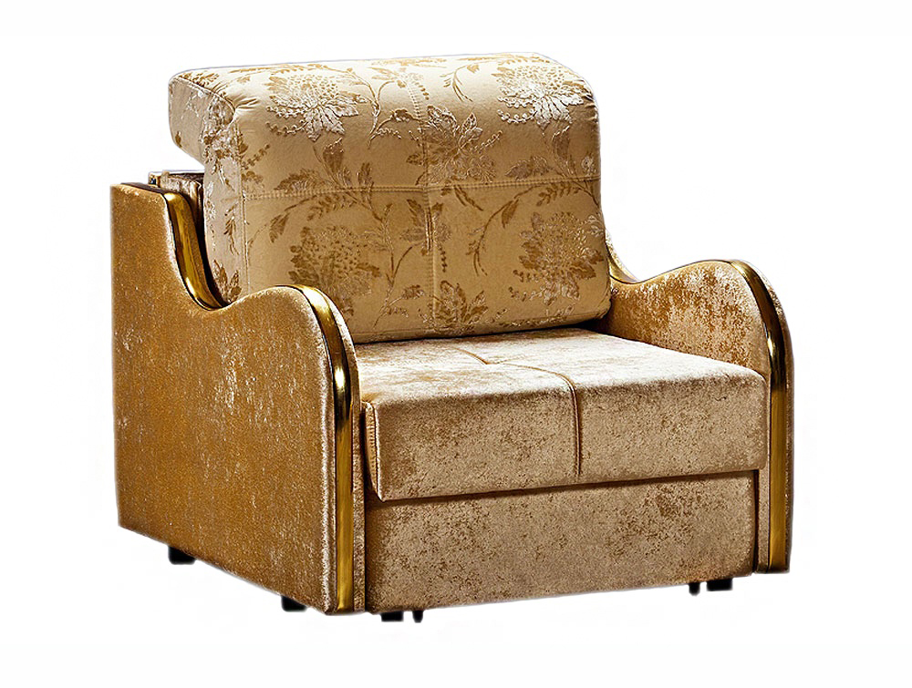 Кресло-кровать ВанильКресло-кровати<br>Размер: 91х110 В90 (сп. м. 75х224)<br><br>Механизм: Выкатной<br>Материалы: Массив сосны, фанера<br>Каркас: Деревянный<br>Полный размер (ДхГхВ): 91х110х90<br>Спальное место: 75х224<br>Наполнитель: ППУ высокой плотности (Пенополиуретан)<br>Дополнительные опции: Цвет молдинга: серебро, золото, бук, орех, ольха, махагон<br>Примечание: Стоимость указана по минимальной категории ткани. Мебель может быть изготовлена в двух исполнениях: СТАНДАТ и ЛЮКС<br>Изготовление и доставка: 5-14 рабочих дней, в зависимости от обивки<br>Условия доставки: Бесплатная по Москве до подъезда<br>Условие оплаты: Оплата наличными при получении товара<br>Доставка по МО (за пределами МКАД): 40 руб./км<br>Доставка в пределах ТТК: Доставка в центр Москвы осуществляется ночью, с 22.00 до 6.00 утра<br>Подъем на грузовом лифте: 350 руб.<br>Подъем без лифта: На первый этаж 250 руб., выше 200 руб./этаж<br>Сборка: 200 руб. в день доставки, заказать сборку Вы можете, если у Вас оформлена услуга подъем/занос изделия в помещение<br>Гарантия: 12 месяцев<br>Производство: Россия<br>Производитель: Фиеста