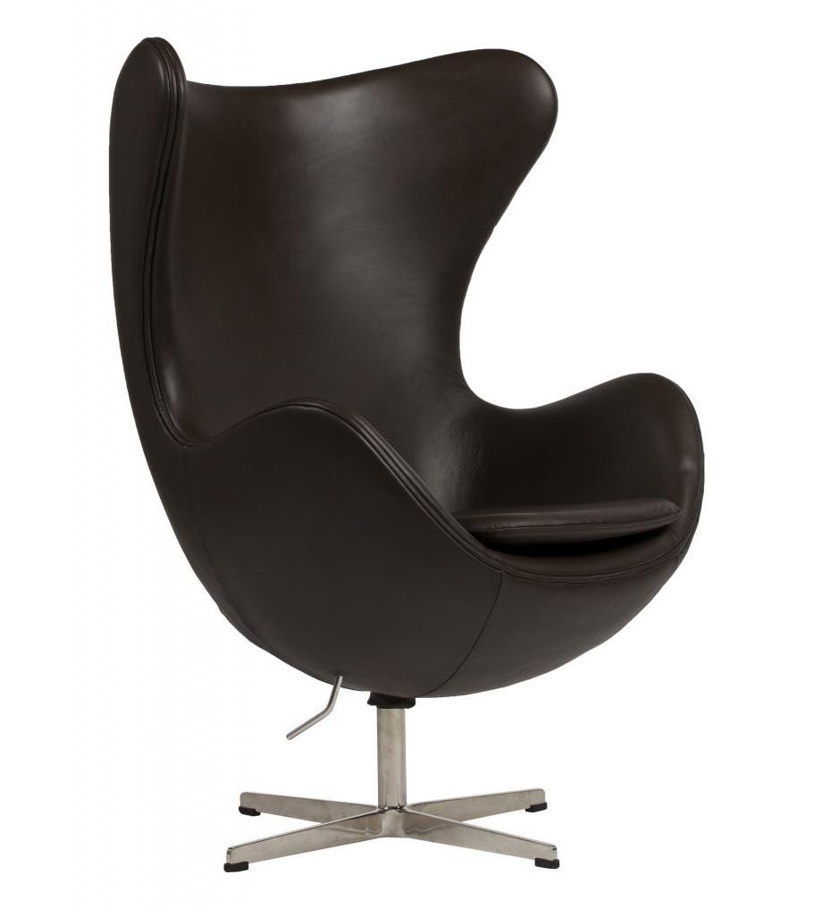 DG-HOME Кресло Egg Chair Dark Brown цена и фото