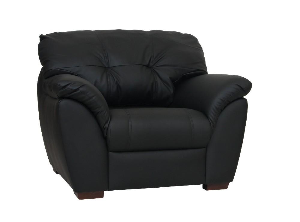 Кресло для отдыха Орион-2 черная экокожа