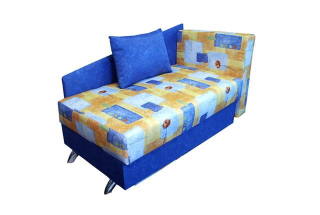 Крош диван-кроватьДетские диваны<br>Размер  140х73 В92<br><br>Механизм: Еврокнижка<br>Каркас: Деревянный<br>Полный размер: 140х73х92<br>Спальное место: 70х194<br>Доступны другие размеры: Нет<br>Наполнитель: ППУ высокой плотности (Пенополиуретан)<br>Комплектация: Ящик для белья, декоративные подушки<br>Примечание: Стоимость указана по минимальной категории ткани<br>Изготовление и доставка: 8-10 дней<br>Условия доставки: Бесплатная по Москве до подъезда<br>Условие оплаты: Оплата наличными при получении товара<br>Доставка по МО (за пределами МКАД): 30 руб./км<br>Доставка в пределах ТТК: Доставка в центр Москвы осуществляется ночью, с 22.00 до 6.00 утра<br>Подъем на грузовом лифте: 500 руб.<br>Сборка: 200 руб. в день доставки, заказать сборку Вы можете, если у Вас оформлена услуга подъем/занос изделия в помещение<br>Гарантия: 12 месяцев<br>Производство: Россия<br>Производитель: Вит
