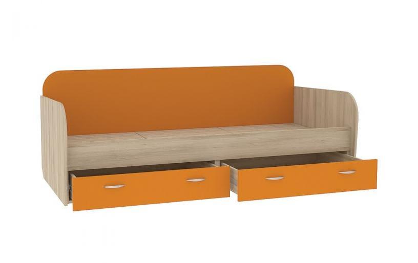 Кровать Ника 424Детские кровати<br>Размер: 89,8х203,8 В72,7<br><br>Материалы: ЛДСП 16 мм<br>Полный размер (ДхГхВ): 89,8х203,8 В72,7<br>Спальное место: 80х200<br>Вес товара (кг): 64<br>Примечание: Доставляется в разобранном виде<br>Изготовление и доставка: 21-25 дней<br>Условия доставки: Бесплатная по Москве до подъезда<br>Условие оплаты: Оплата наличными при получении товара<br>Доставка по МО (за пределами МКАД): 35 руб./км. Доставка за МКАД, за пределы трассы А-107 (ММК)<br>Доставка в пределах ТТК: +1000 руб. Доставка в центр Москвы осуществляется ночью, с 22.00 до 7.00 утра<br>Подъем на грузовом лифте: 3% от стоимости изделия<br>Подъем без лифта: 2% от стоимости изделия за 1 этаж<br>Сборка: 10% от стоимости изделия. Выезд сборщика за МКАД до 30 км (за исключением близлежащих районов Москвы - Южное Бутово, Митино и т.п.) - 500 руб. дополнительно к стоимости сборки, от 30 до 100 км - 1000 руб.<br>Гарантия: 18 месяцев<br>Производство: Россия<br>Производитель: NiK