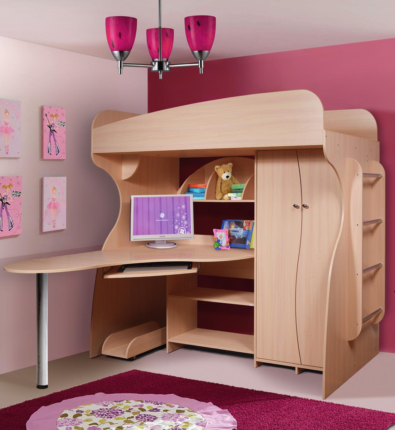Кровать-чердак Альфа-3 241