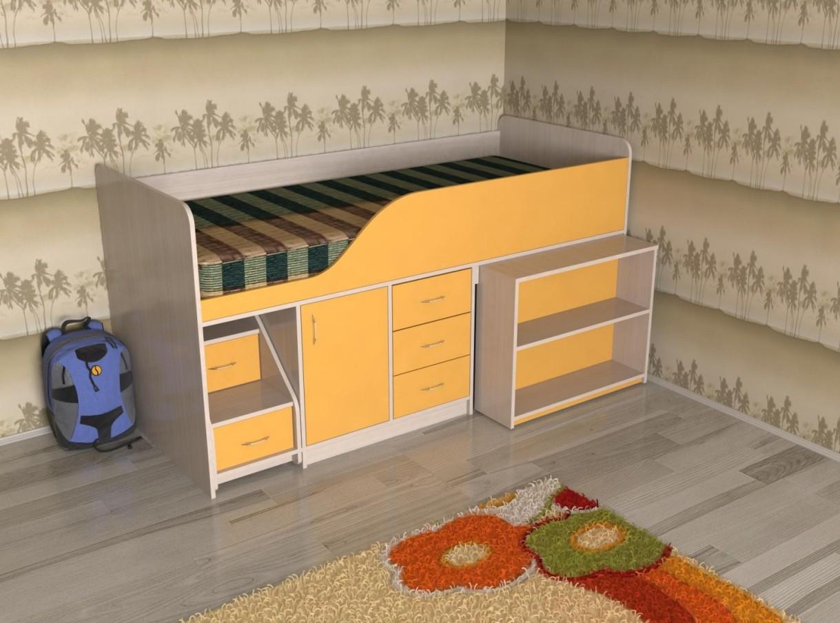 Кровать-чердак Кузя-2