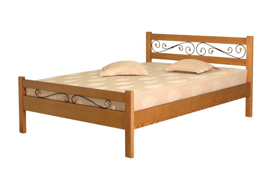 Деревянная кровать Венеция-2