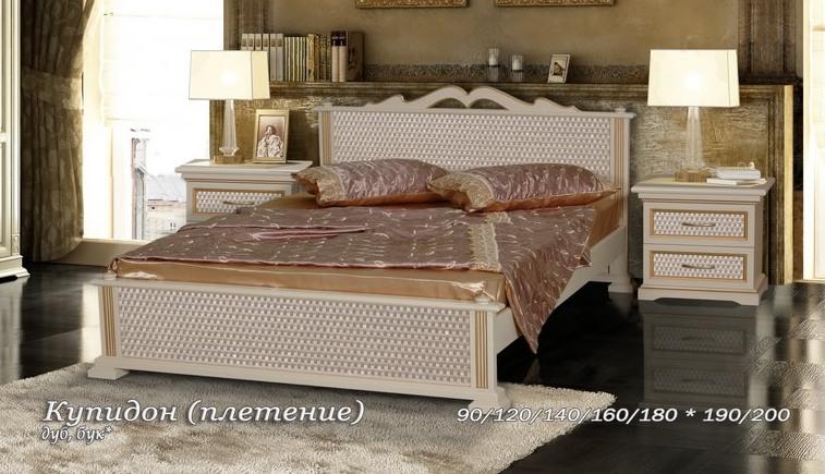 Кровать Купидон-1 плетение