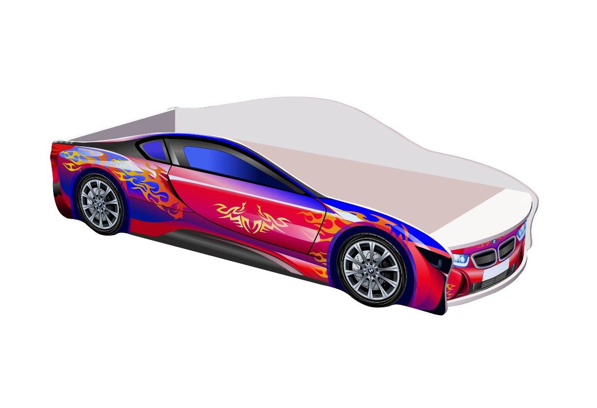Кровать-машина БМВ кровать машина кровати машины радуга m056