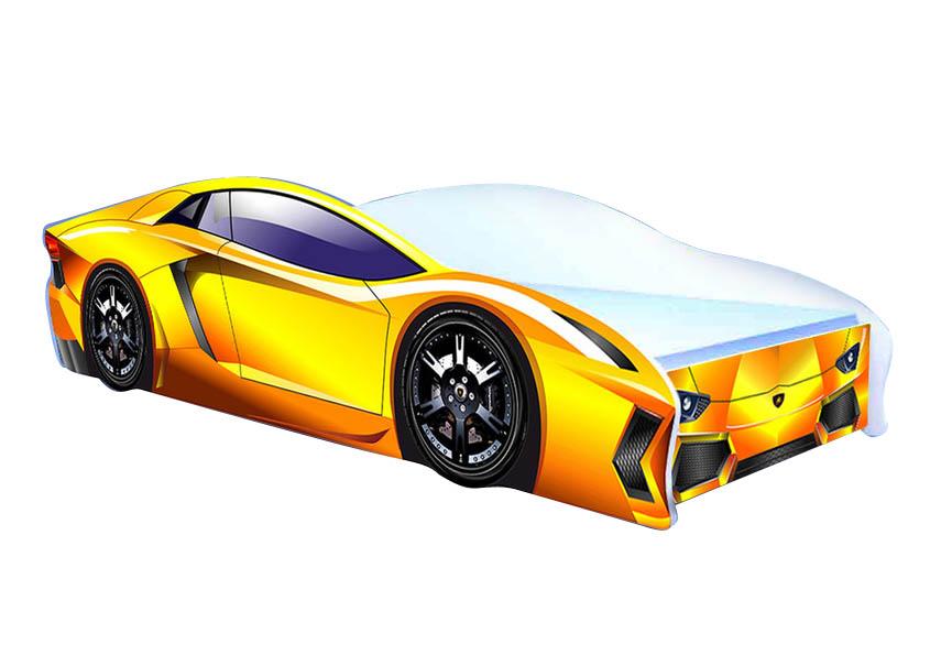 Кровать-машина Ламбо кровать машина кровати машины радуга m056