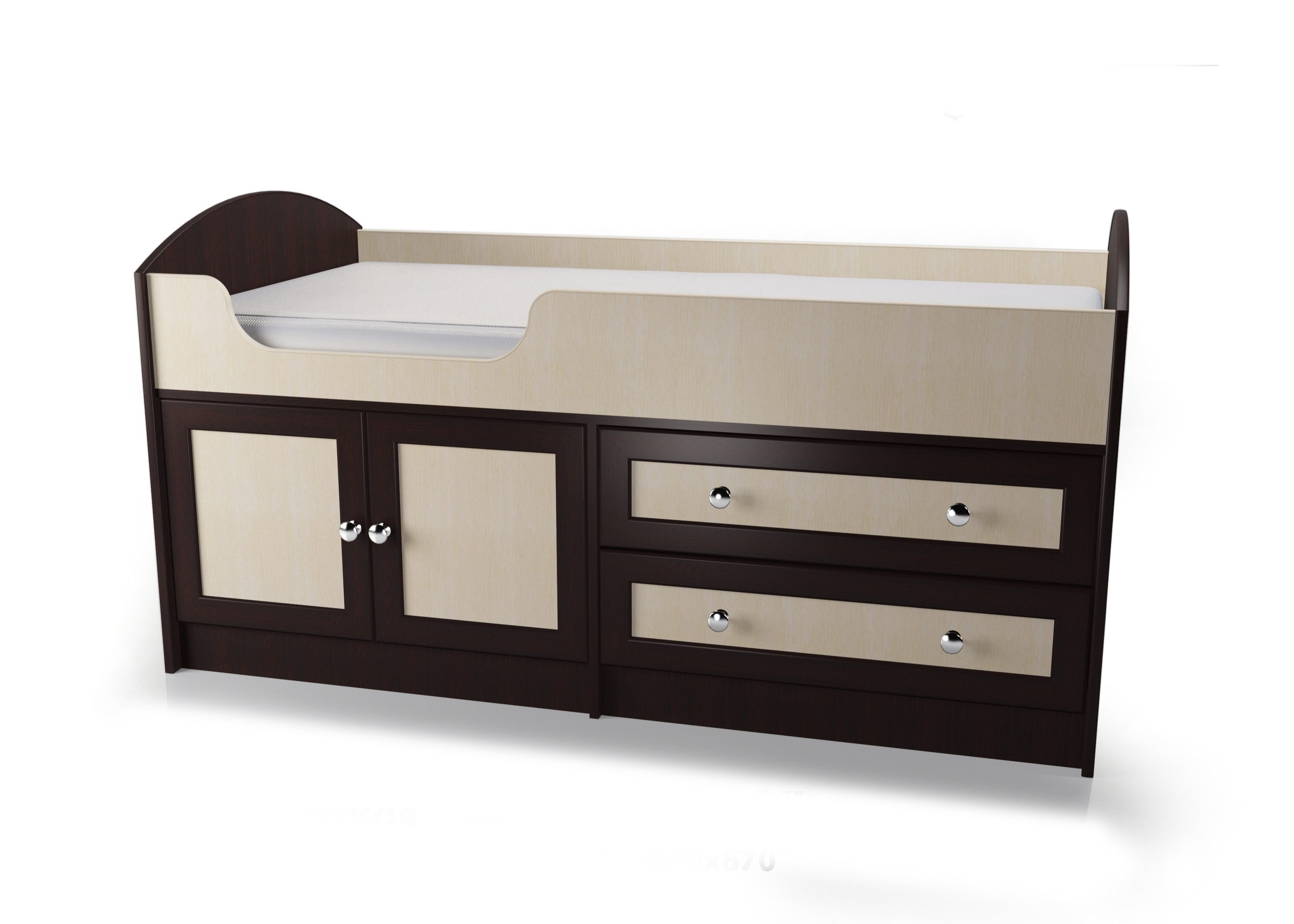 Кроватка Мебелайн - 2 библиотека мебелайн 4