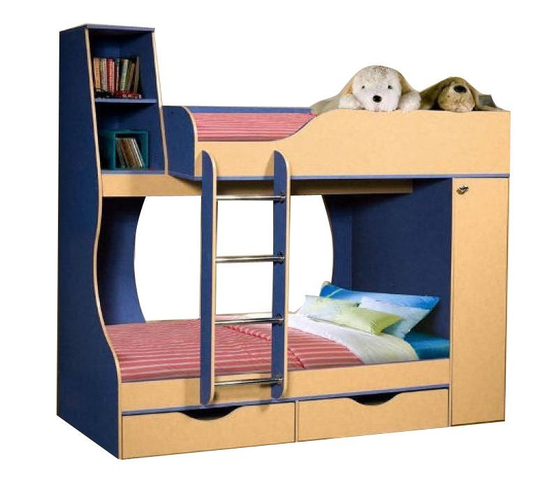 Кровать двухъярусная 05 0255
