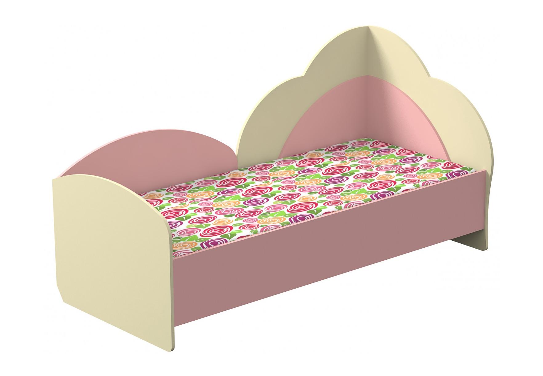 Кровать Настенька 2Детские кровати<br>Размер: 88х194,5х99,5<br><br>Материалы: ЛДСП, кромка ПВХ<br>Полный размер (ШхДхВ): 88х194,5х99,5<br>Спальное место: 80х190<br>Комплектация: Матрас в стоимость не входит<br>Цвет: Ваниль/Розовый<br>Примечание: Доставляется в разобранном виде<br>Изготовление и доставка: 10-14 дней<br>Количество упаковок: 1 шт<br>Условия доставки: Бесплатная по Москве до подъезда<br>Условие оплаты: Оплата наличными при получении товара<br>Доставка по МО (за пределами МКАД): 30 руб./км<br>Доставка в пределах ТТК: Доставка в центр Москвы осуществляется ночью, с 22.00 до 6.00 утра<br>Подъем на грузовом лифте: 500 руб.<br>Подъем без лифта: 250 руб./этаж включая первый<br>Сборка: 1000 руб.<br>Гарантия: 12 месяцев<br>Производство: Россия<br>Производитель: МК Премиум