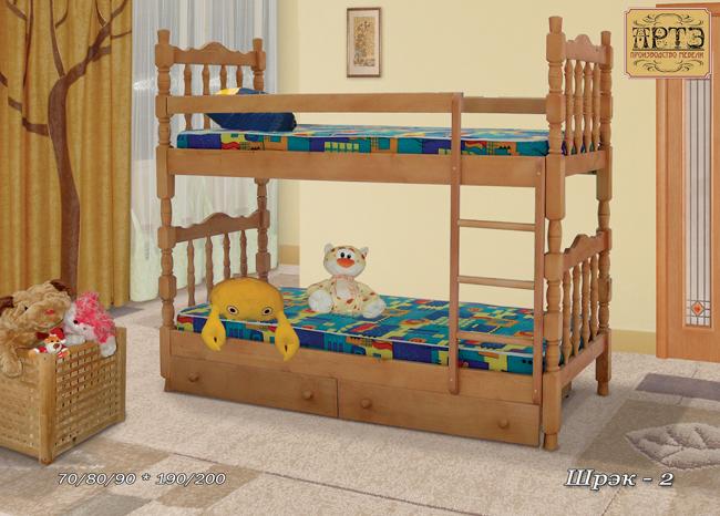 Кровать Шрэк-2