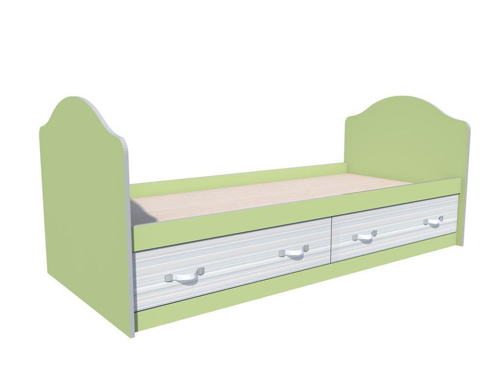 Кровать Модерн НМ 008.63
