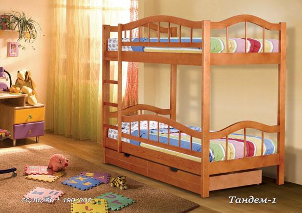 Кровать Тандем №1