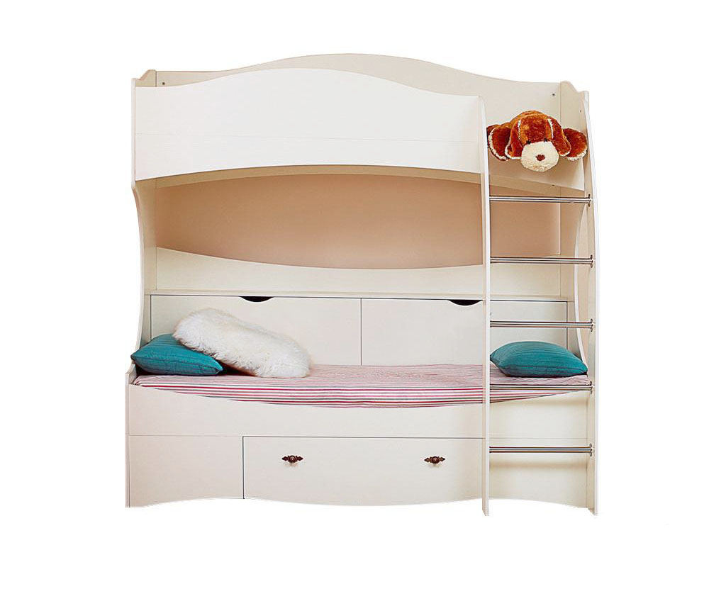 2-х ярусная кровать Прованс НМ 011.74