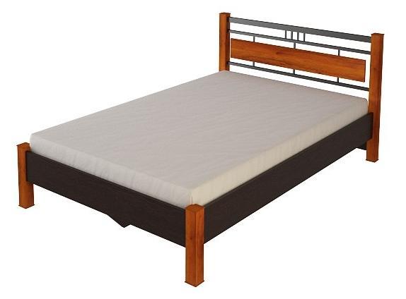 Кровать №22.2 (серия МК28)Кровати<br>Размер: 128,7х198,2 В84,2<br><br>Материалы: ЛДСП, кромка ПВХ<br>Полный размер: 128,7х198,2 В84,2<br>Спальное место: 120х190<br>Вес товара (кг): 80<br>Комплектация: Матрас в стоимость не входит<br>Цвет: По фото: Венге/Дуб сокальский<br>Примечание: Доставляется в разобранном виде<br>Изготовление и доставка: 10-14 дней<br>Условия доставки: Бесплатная по Москве до подъезда<br>Условие оплаты: Оплата наличными при получении товара<br>Подъем на грузовом лифте: 500 руб<br>Подъем без лифта: 250 руб./этаж включая первый<br>Сборка: 10% от стоимости изделия, но не менее 1,000 руб.<br>Гарантия: 12 месяцев<br>Производство: Россия<br>Производитель: Корвет