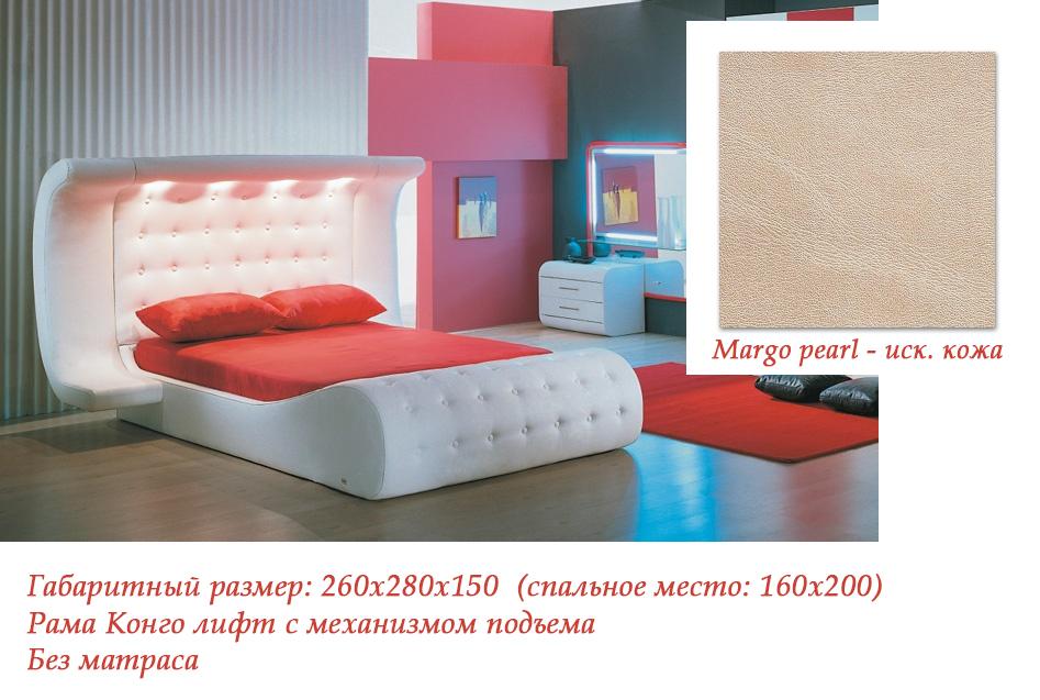 Интерьерная кровать Азалия-918
