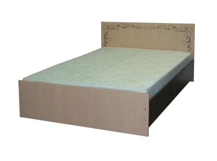 Кровать двойная с фотопечатью