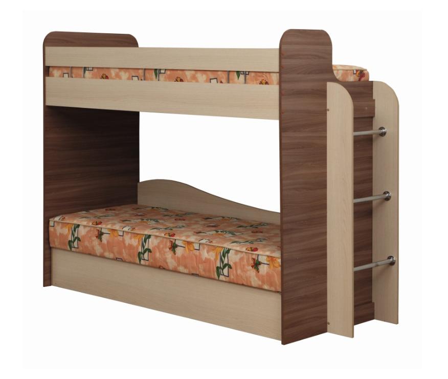 Кровать двухъярусная Адель-4Детские кровати<br>Размер: 2112х1710х844<br><br>Материалы: ЛДСП, кромка ПВХ<br>Полный размер (ДхГхВ): 2112х844х1710<br>Спальное место: 800х1915<br>Комплектация: Ящик для белья<br>Цвет: Ясень Шимо Темный/Дуб Линдберг<br>Важно: Матрас в стоимость не входит<br>Изготовление и доставка: 7-14 дней<br>Условия доставки: Бесплатная по Москве до подъезда<br>Условие оплаты: Оплата наличными при получении товара<br>Доставка по МО (за пределами МКАД): 30 руб./км<br>Доставка в пределах ТТК: Доставка в центр Москвы осуществляется ночью, с 22.00 до 6.00 утра<br>Подъем на грузовом лифте: 700 руб.<br>Подъем без лифта: 350 руб./этаж (включая первый)<br>Сборка: 10% от стоимости изделия<br>Гарантия: 12 месяцев<br>Производство: Россия, г. Нижний Новгород<br>Производитель: Олмеко
