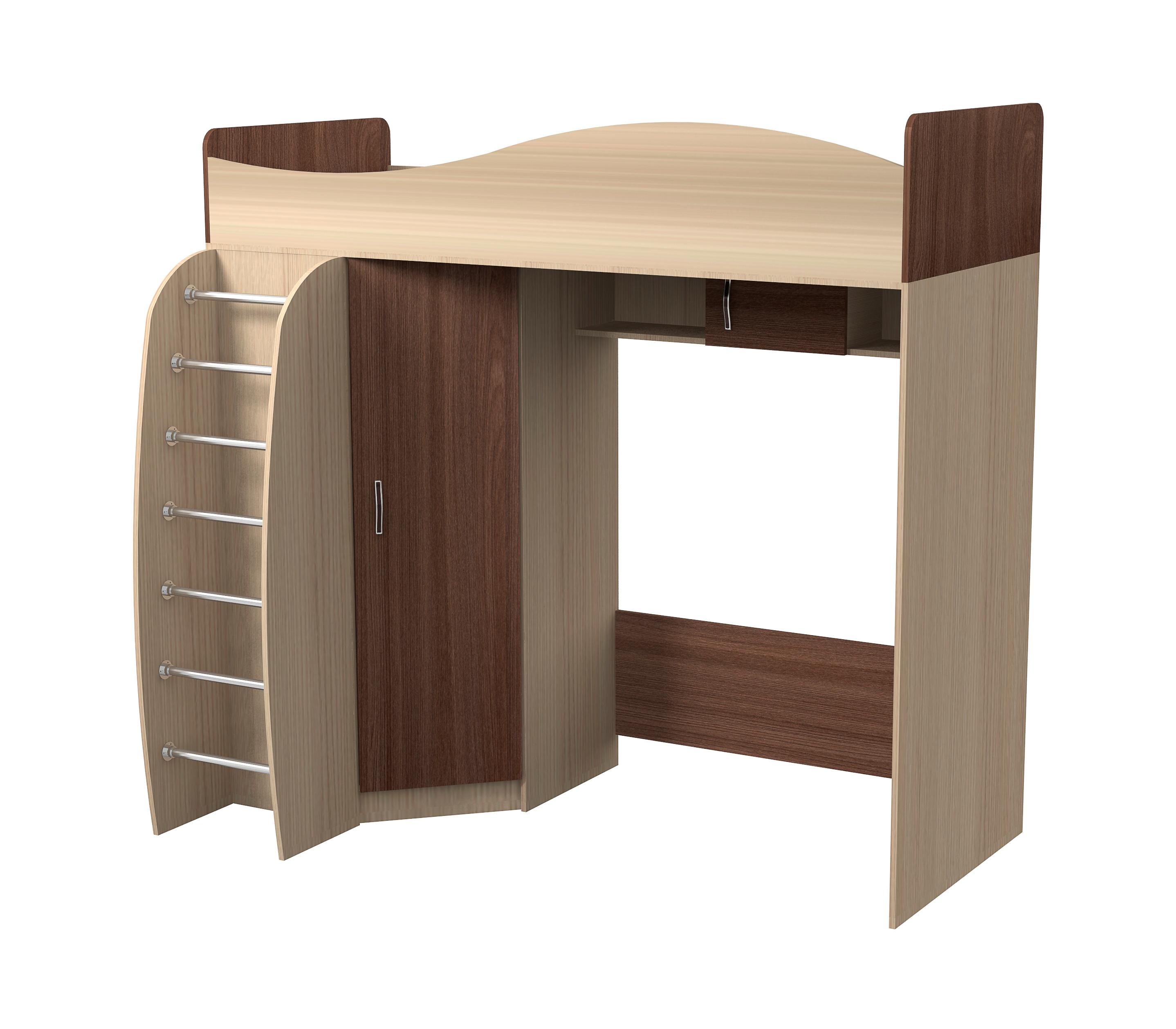 Кровать двухъярусная Алешка